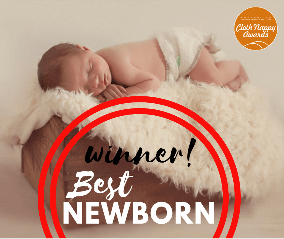Bubblebubs Bambams - fitted newborn nappy, winner 2017 best newborn nappy