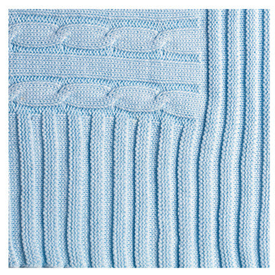 Cable Knit Baby Blankets