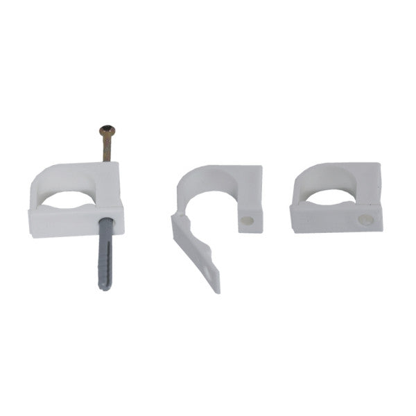 BuddyClips - 25mm White Poly (10s)