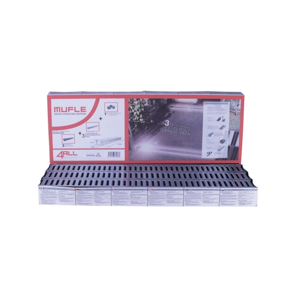 4All Garage Pack Galvanised Steel
