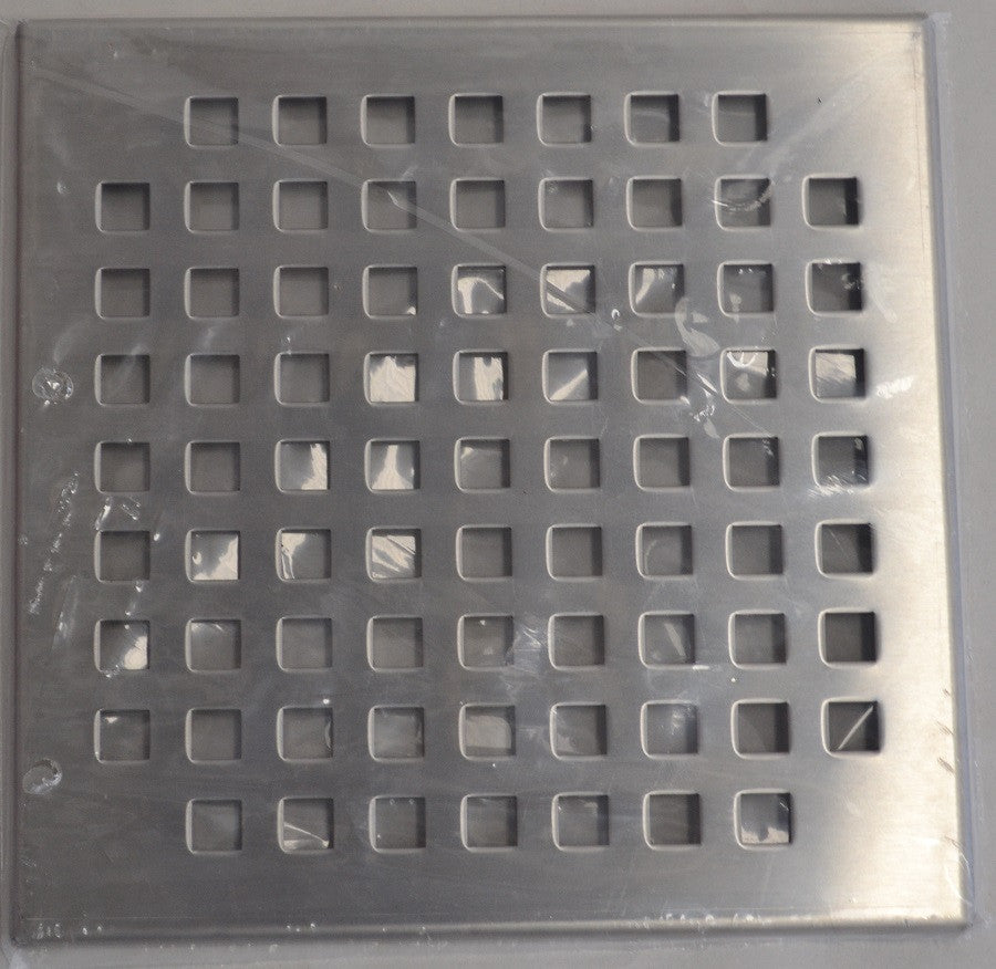 Spare Part - Grate 316 SS Sq 195x195