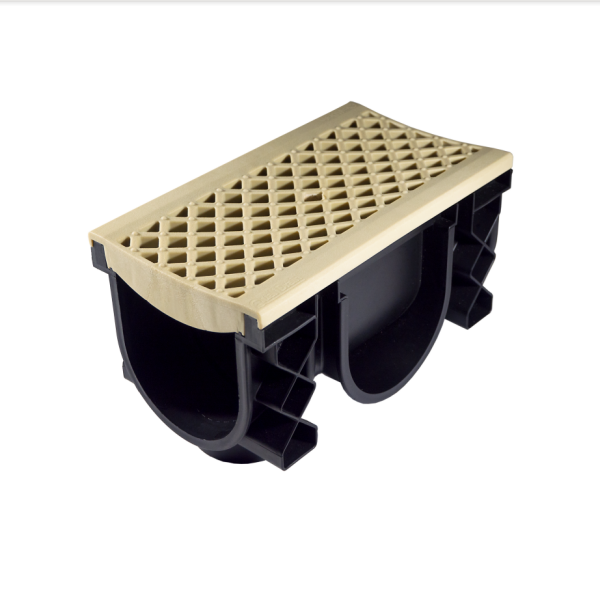 QualiDrain External Channel Drain Sandstone