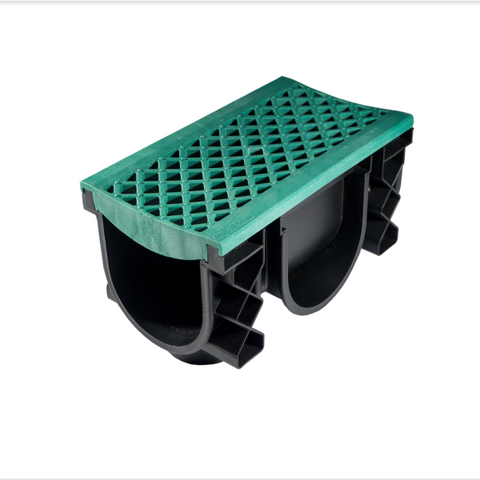 QualiDrain External Channel Drain Green
