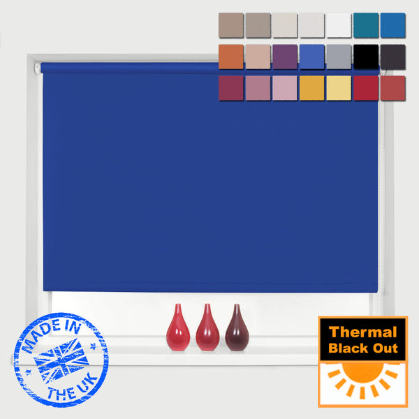 MADE TO MEASURE BLACKOUT ROLLER BLINDS, COLOUR SET 2 - INCREDIBLE PRICES AND QUALITY!