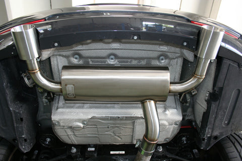 Active Autowerke BMW 435i and 335i exhaust underview