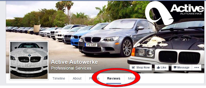 how to review active autowerke on facebook