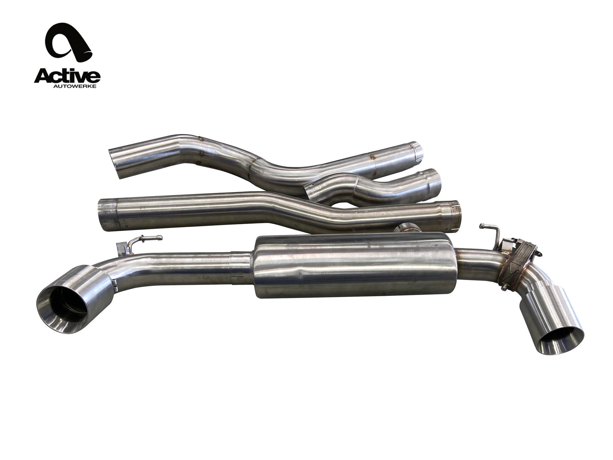 Supra Performance Rear Exhaust by Active Autowerke