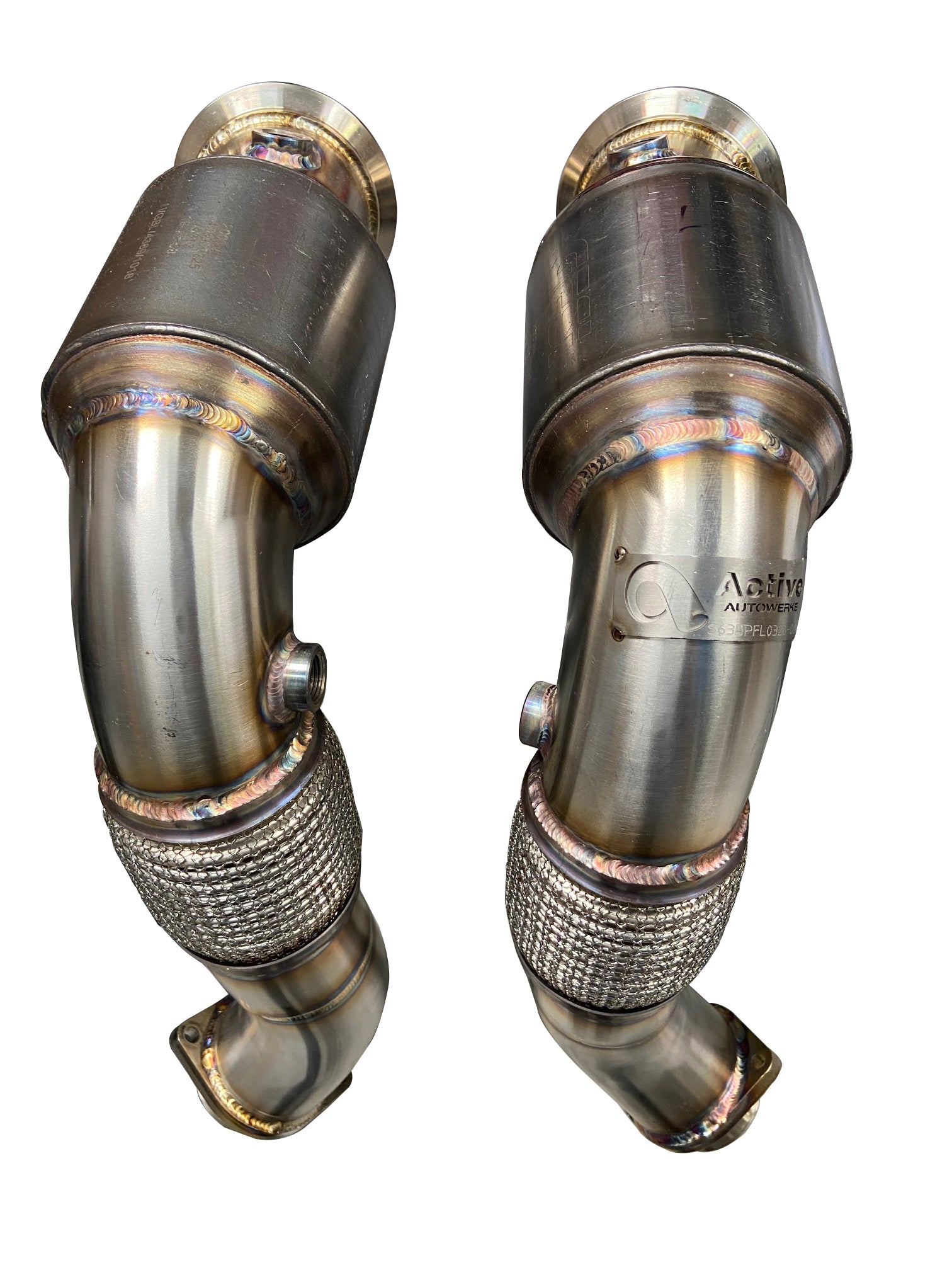 BMW S63 N63 Catted Downpipes | V8 BMW X5 M and X6 M X5 X6 550i 650i