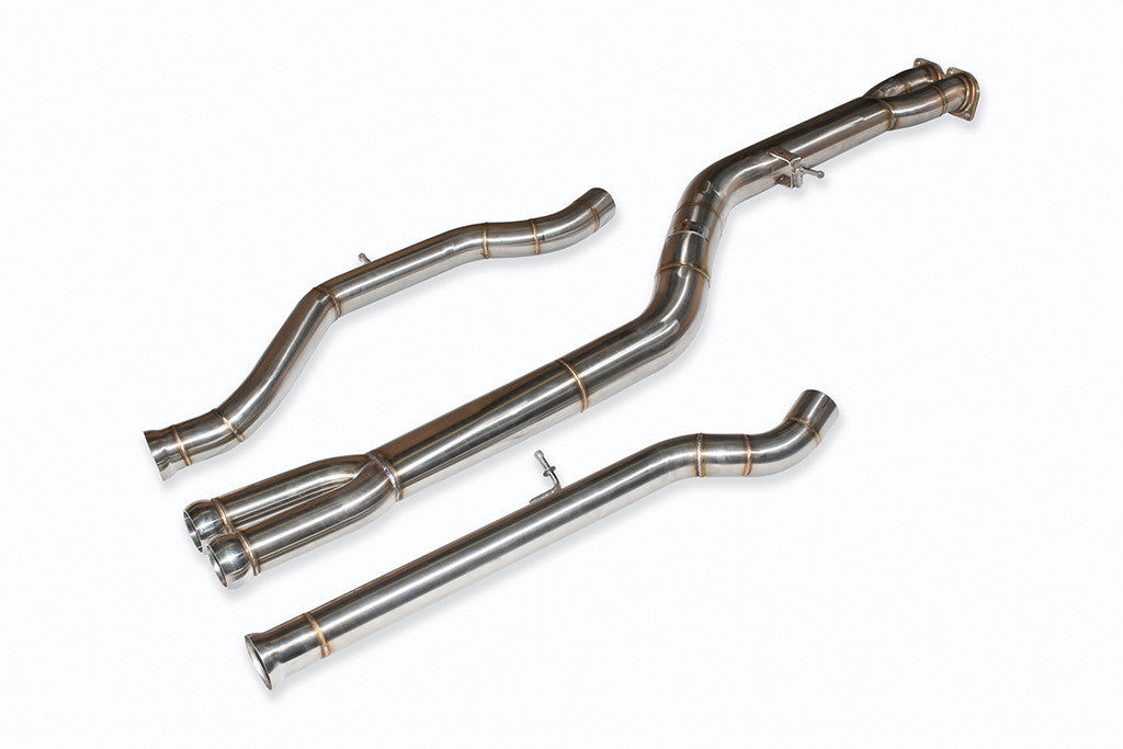 F8X BMW M3 & M4 Mid Pipe NOW includes Active F-brace
