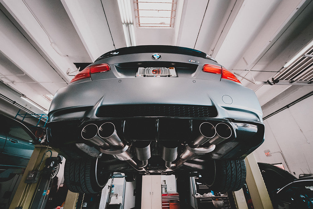 Active Autowerke E9x Bmw M3 Full Exhaust Add Power Lose Weight