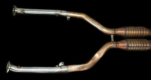 Easy DIY exhaust test pipe for BMW E9x M3 V8