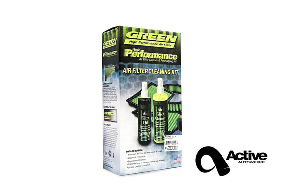Green Filter Cleaning Kit & Recharge Oil | E60 535 (N54 N55) E82 135 E9X  335 M3
