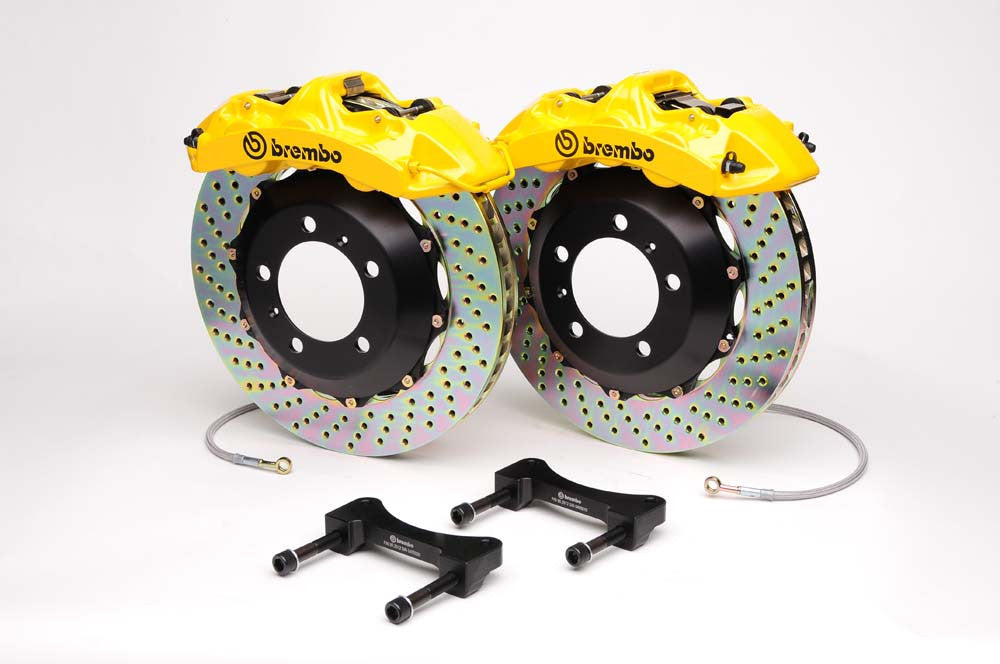 Brembo GT 4 Piston Big Brake Kit for E46 M3 (Rear)