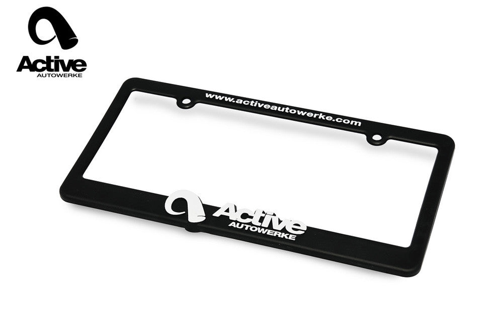 active autowerke license plate frame