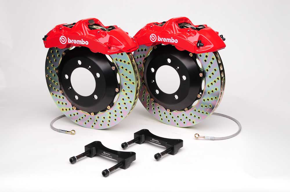 Brembo GT 4 Piston Big Brake Kit for E46 M3 (Front)