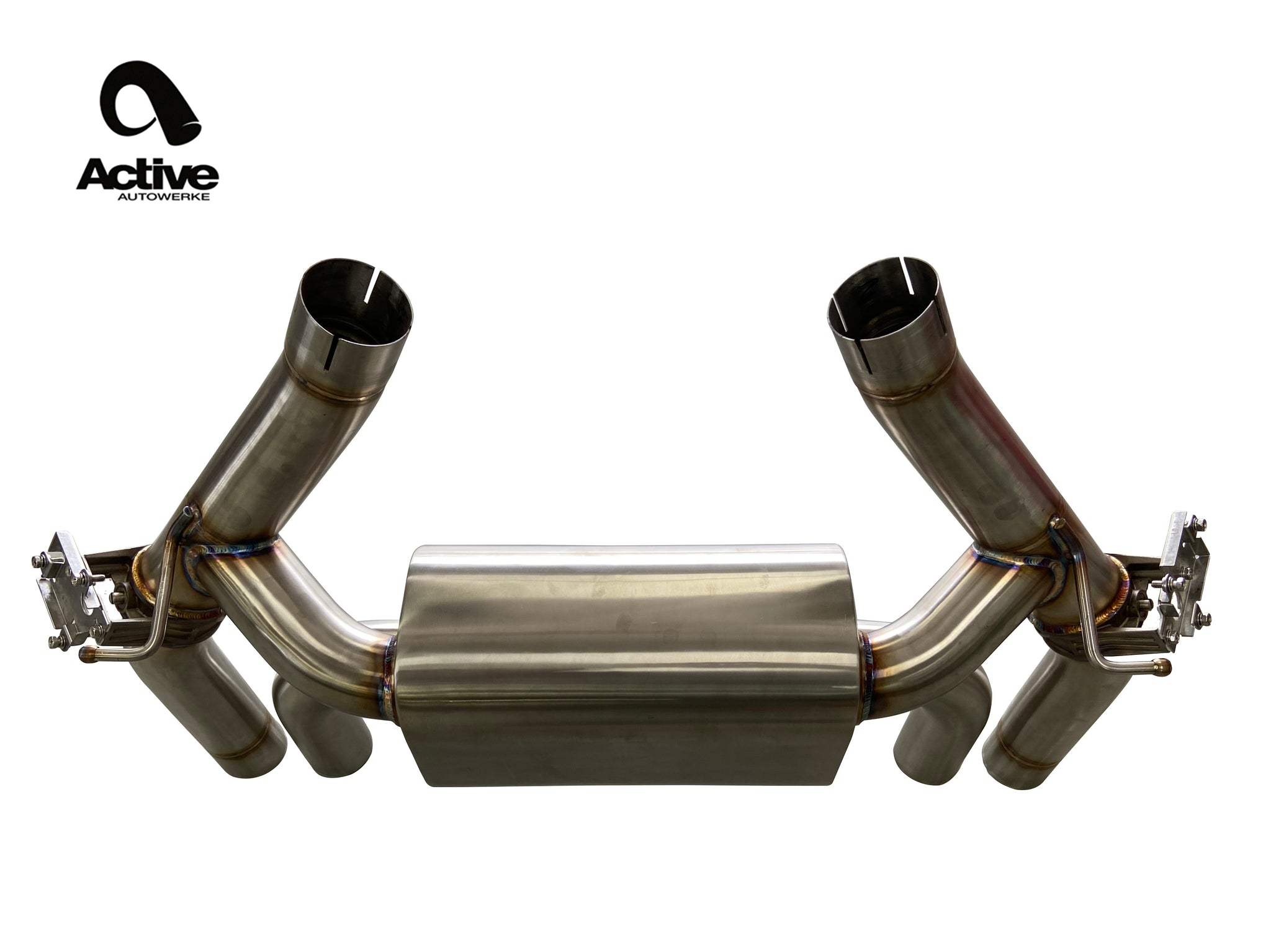 F87 M2C Valved Rear Axle-back Exhaust