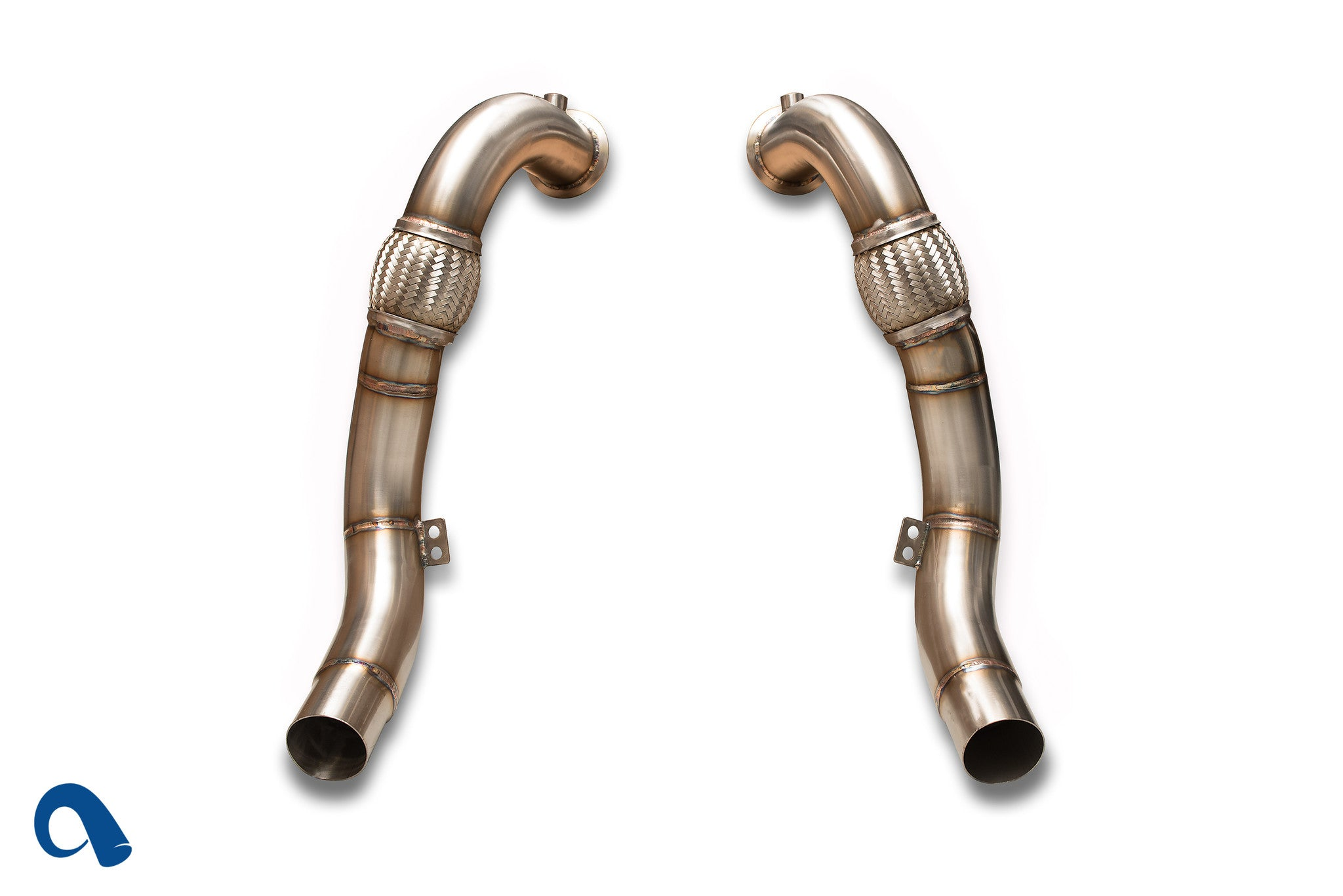 BMW N63 Downpipes for | Twin-turbo V8 BMW X5 and X6 | F10 550i by BMW tuner, Active Autowerke