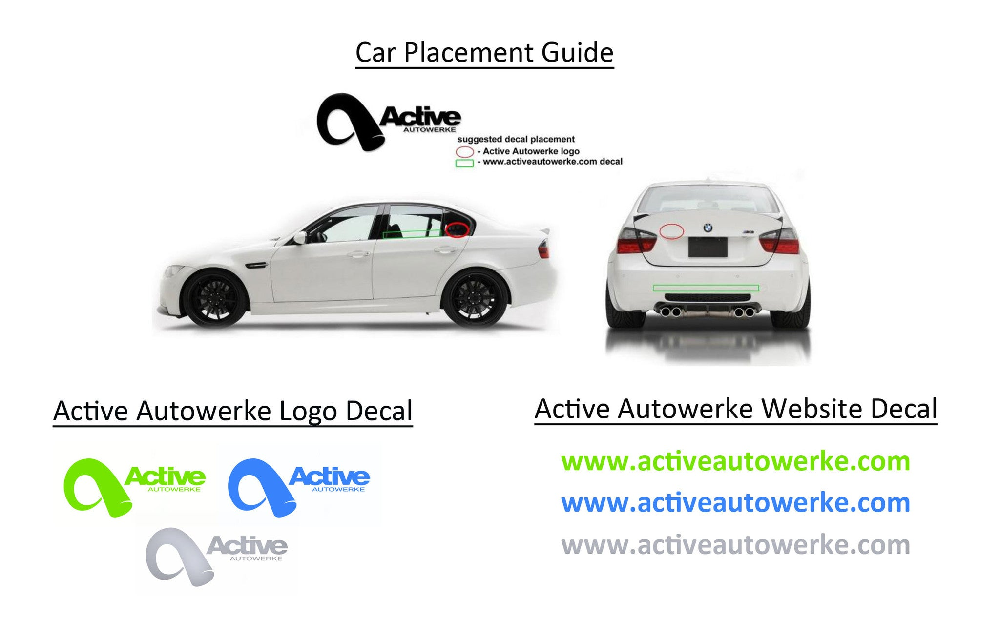 Active Autowerke Sticker Pack