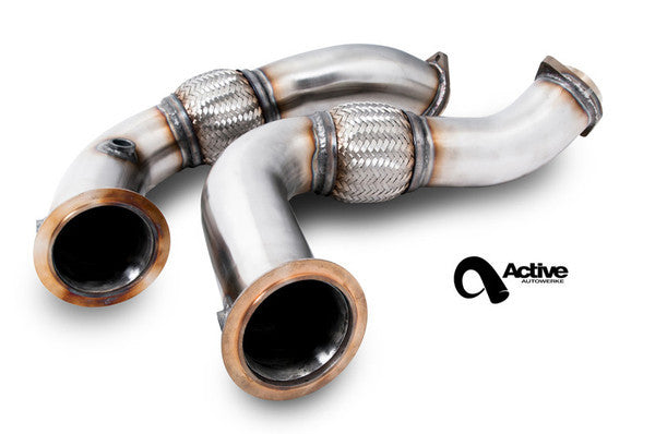 S63 BMW X5M X6M performance downpipes