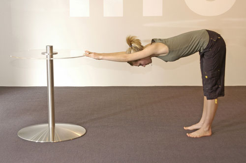 Spring Exercise to enhance sitting posture - Leg and Spine Stretch