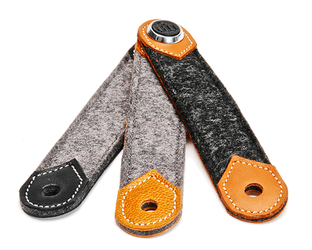 3 band models of s-key leather & wool left. From s-key-shop.com