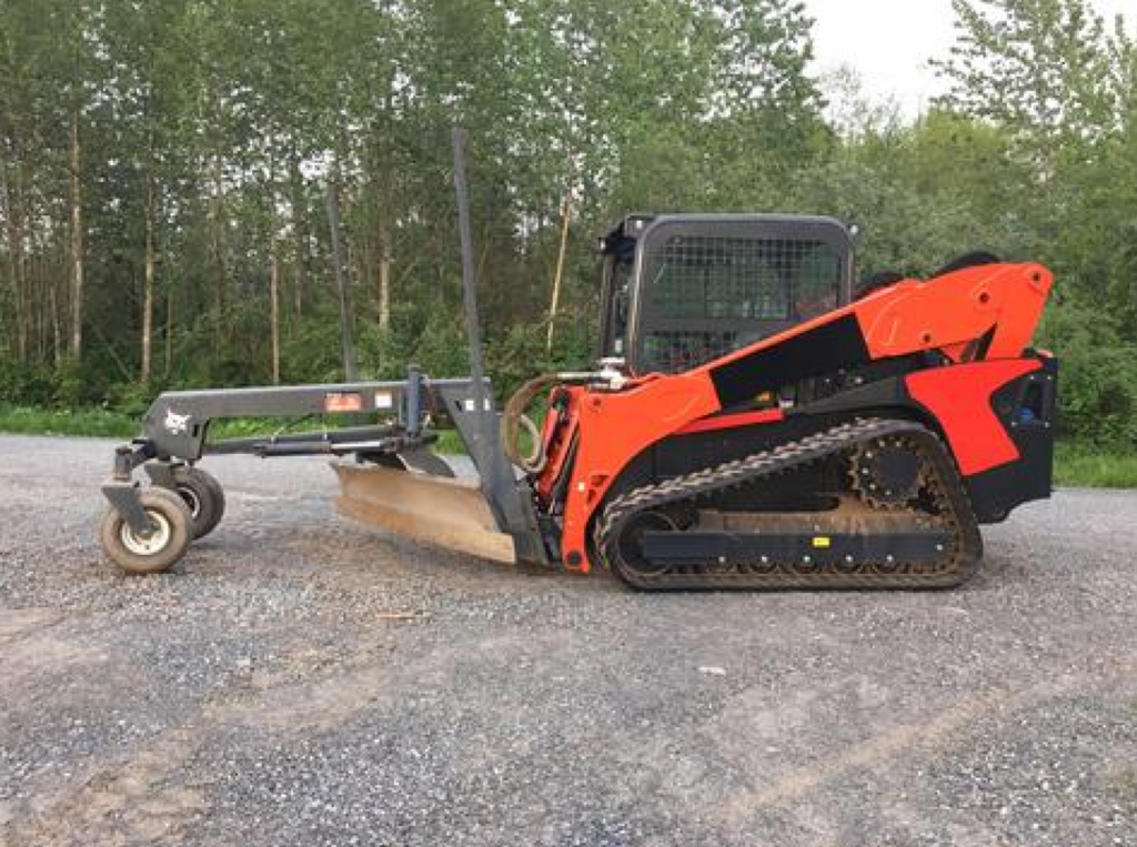 Adapting Bobcat Attachments to run on Kubota SVL machines