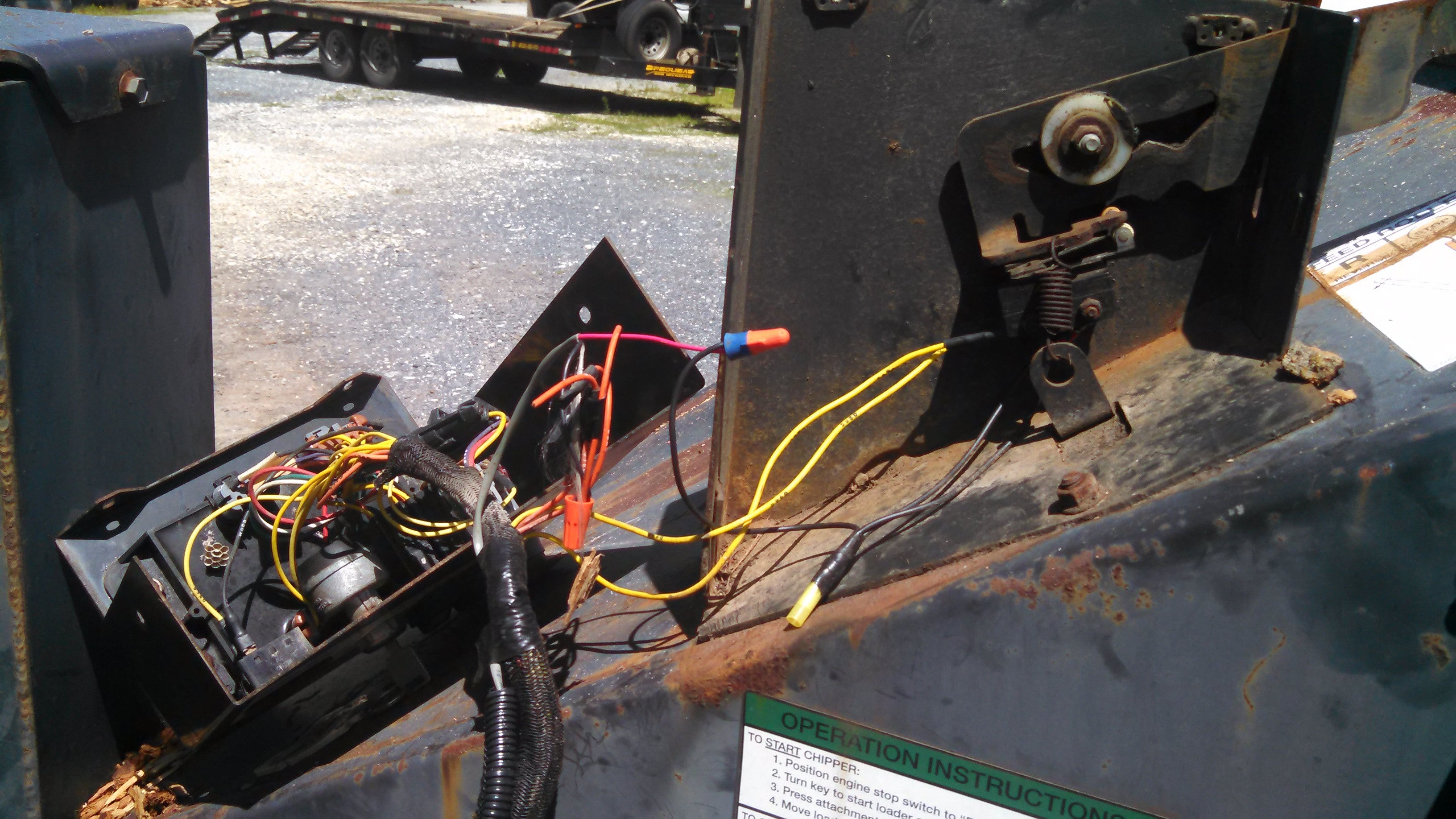 ... Bobcat RACS system with additional wiring