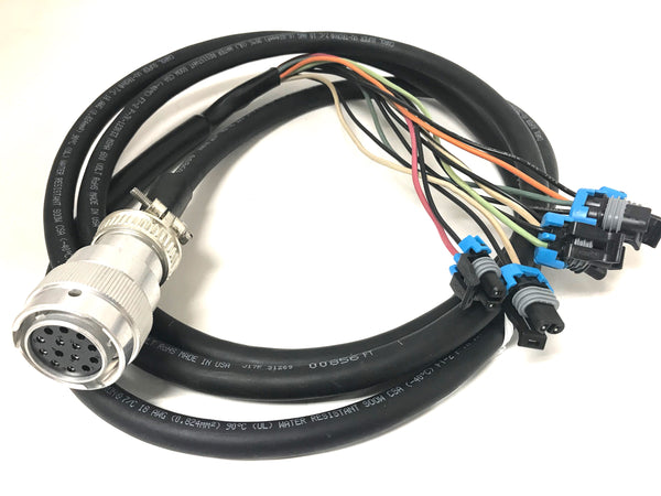 [ANLQ_8698]  SG-BPH-14-6-9DP/DT - 14 Pin Female to Delphi 2 Pin Harness - 6 - Output -  Attachment Side – Skid Steer Genius | Delphi 6 Way Wiring Harness Connectors |  | Skid Steer Genius