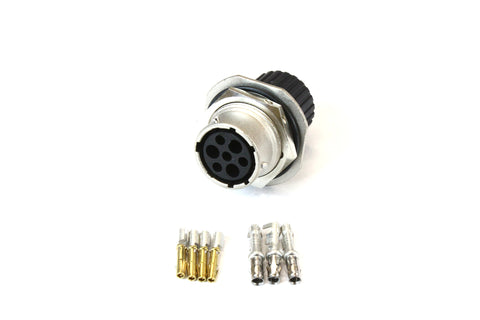 SG-KIT-TRIDENT-F - 7 Pin Female Connector for Bobcat - Machine Side | Skid Steer Genius