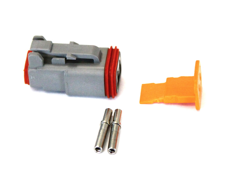 Deutsch - 2 Pin Plug (Qty 10) | Skid Steer Genius