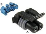 SG-BPH-8-6-9 - 8 Pin Female to Delphi 2 Pin Harness - Attachment Side - 6 Output | Skid Steer Genius