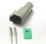 Deutsch - 2 Pin Receptacle (Qty 10) | Skid Steer Genius