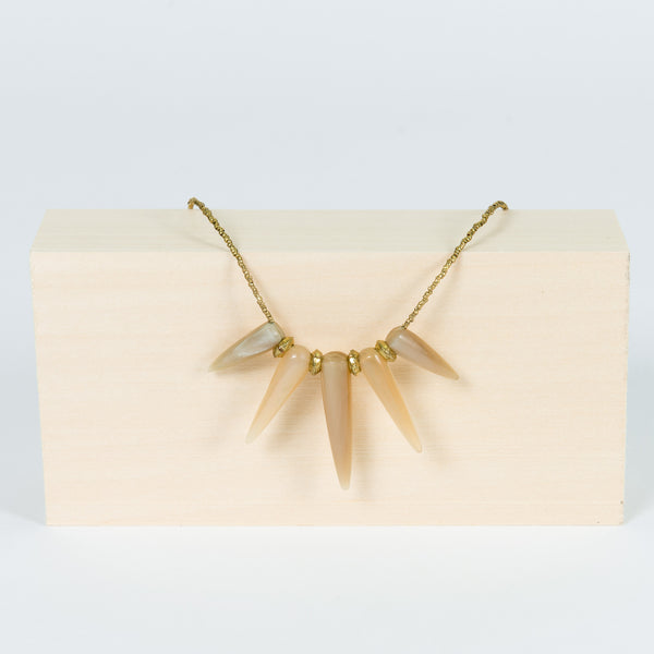 Coronet Necklace (Blonde) by Akola Project - Thistle Farms / Global Marketplace - 3