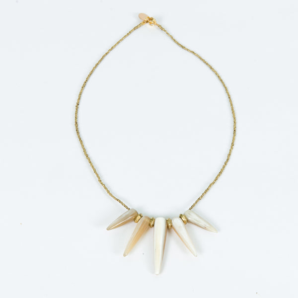 Coronet Necklace (Blonde) by Akola Project - Thistle Farms / Global Marketplace - 1