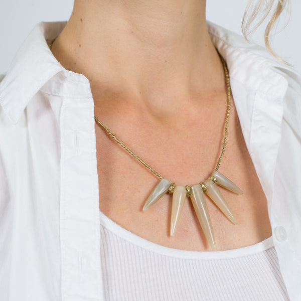 Coronet Necklace (Blonde) by Akola Project - Thistle Farms / Global Marketplace - 4