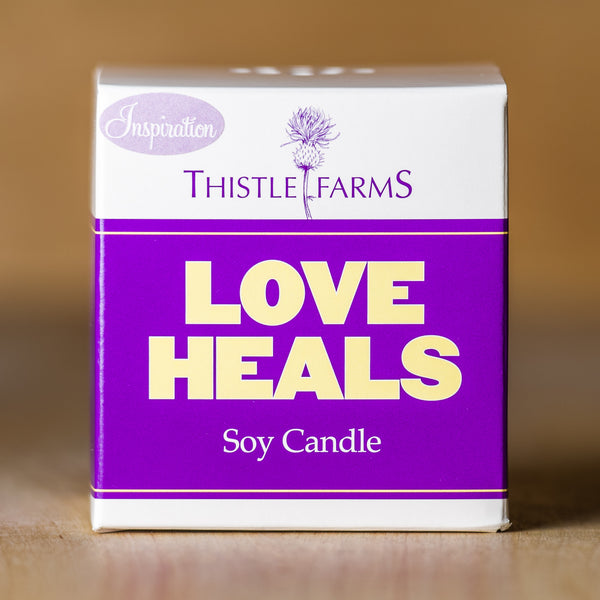 Hand poured Candle - Lavender Scent - Thistle Farms / Global Marketplace - 5