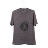 Men's Grey Crew Neck Tee