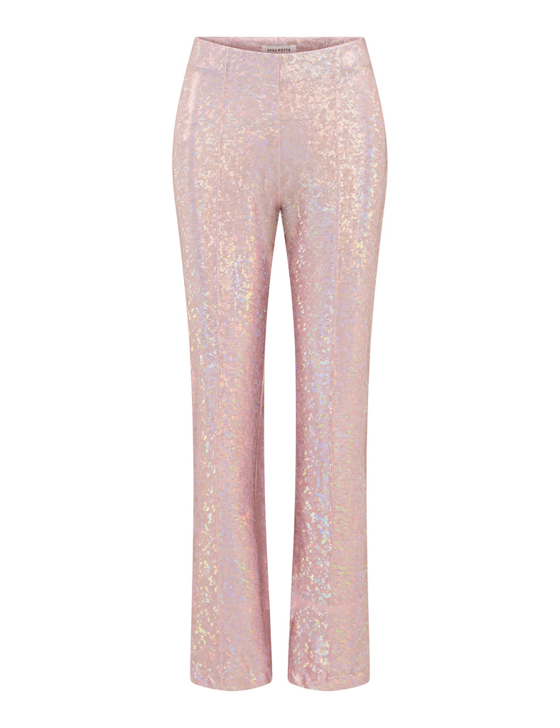 Lissi Pants — Baby Pink Shimmer