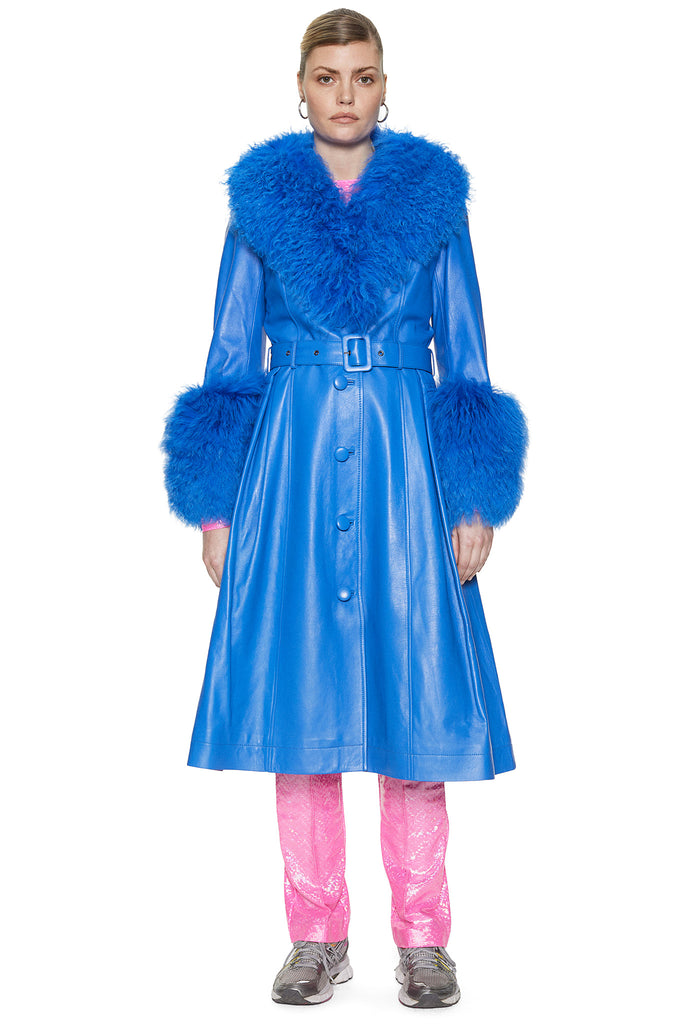 Foxy Shearling Coat