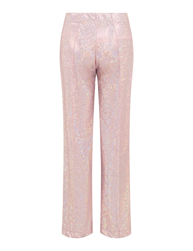 Lissay Pants — Baby Pink Shimmer