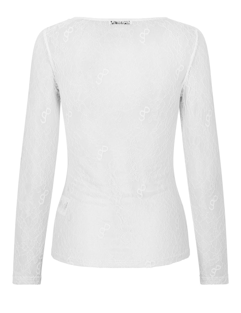 Crush Blouse — White