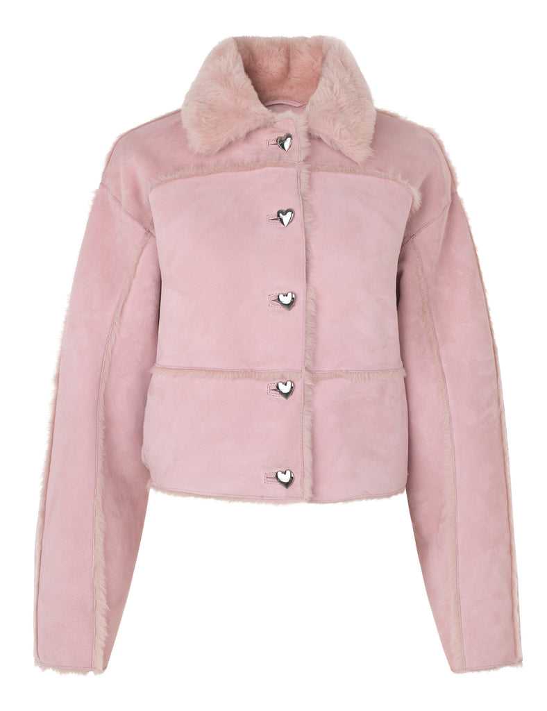 Kahlo Jacket — Baby Pink