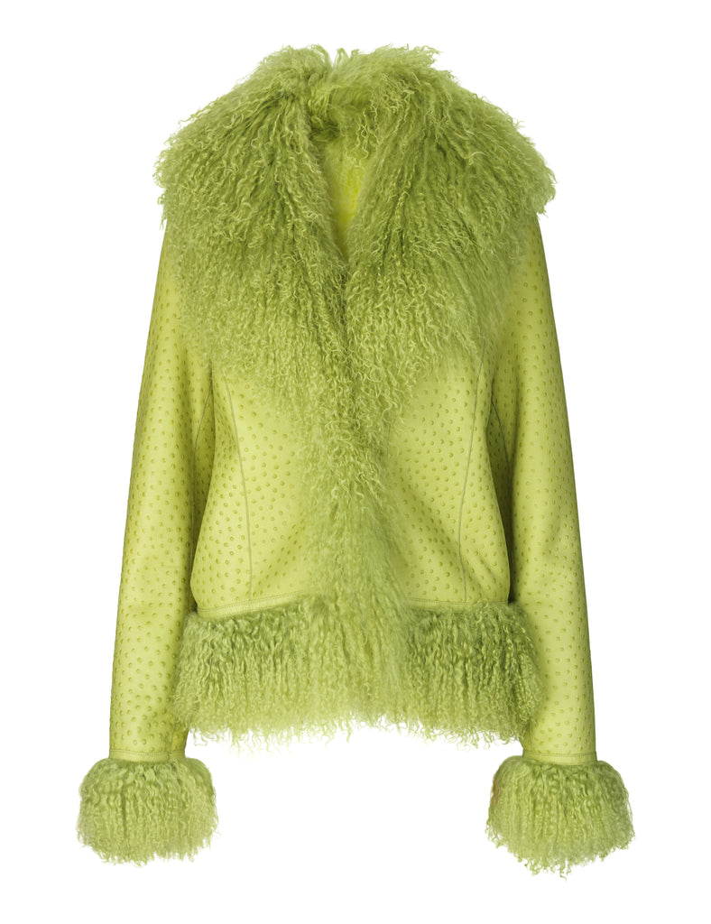 Bon Jacket — Lime Green
