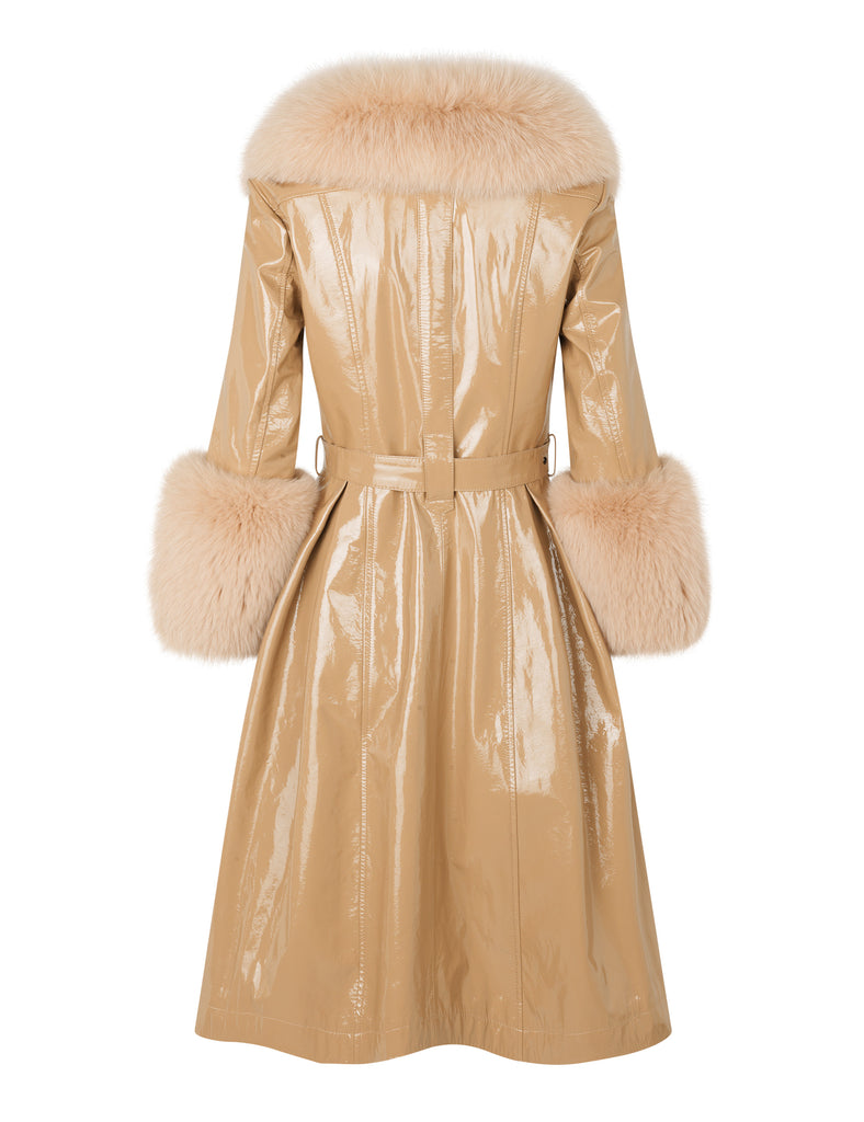 Foxy Coat — Beige Gloss
