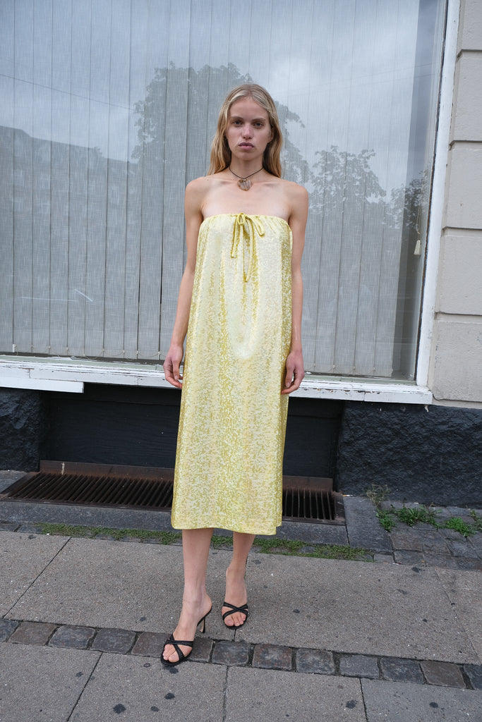 FNULD DRESS — Citrus Shimmer