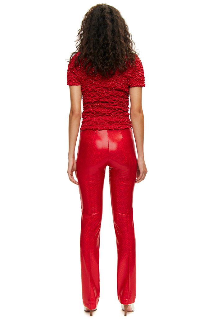 Lissi Red Shimmer Pants