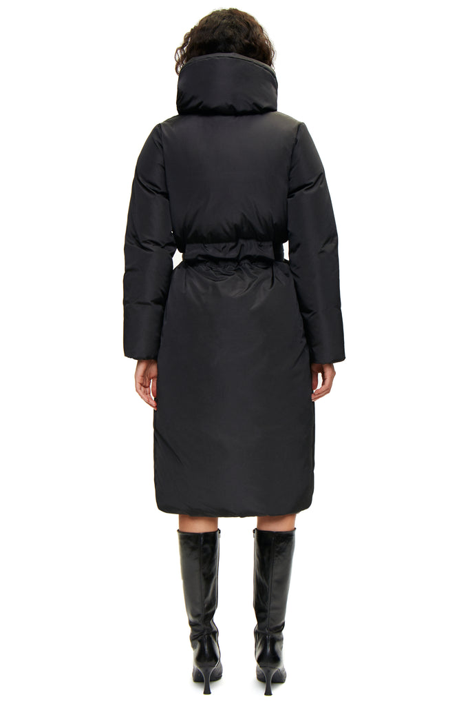 Sauna Coat — Black