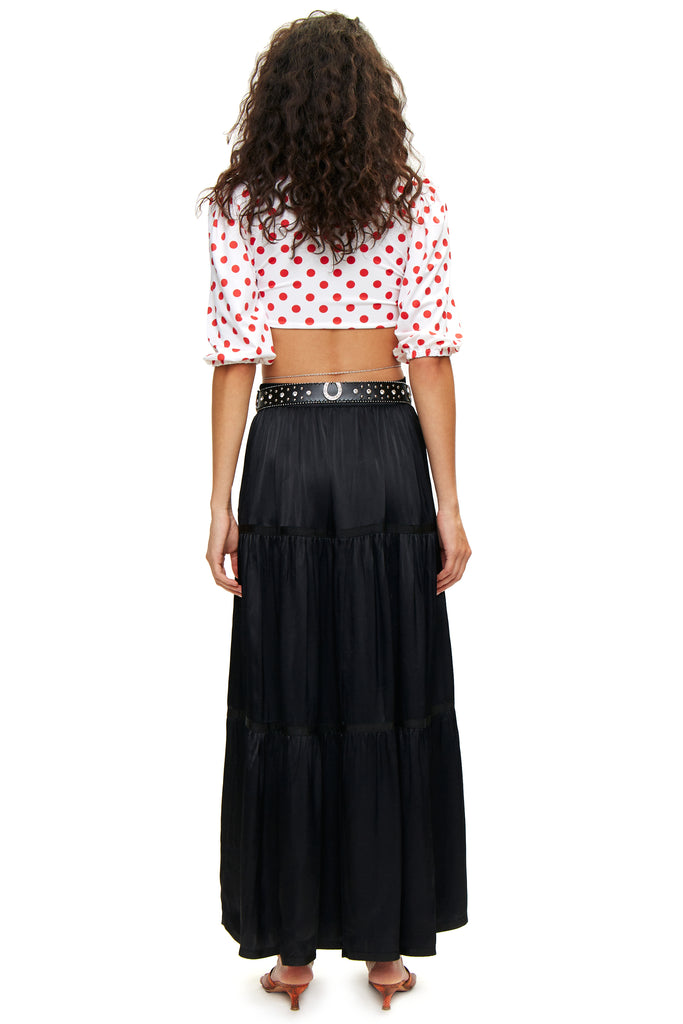 Esmeralda Black Skirt