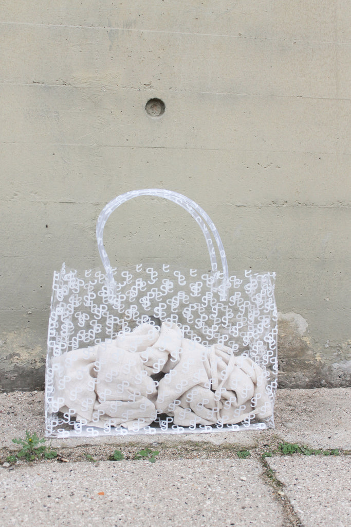 Shopping Bag — SP White Print