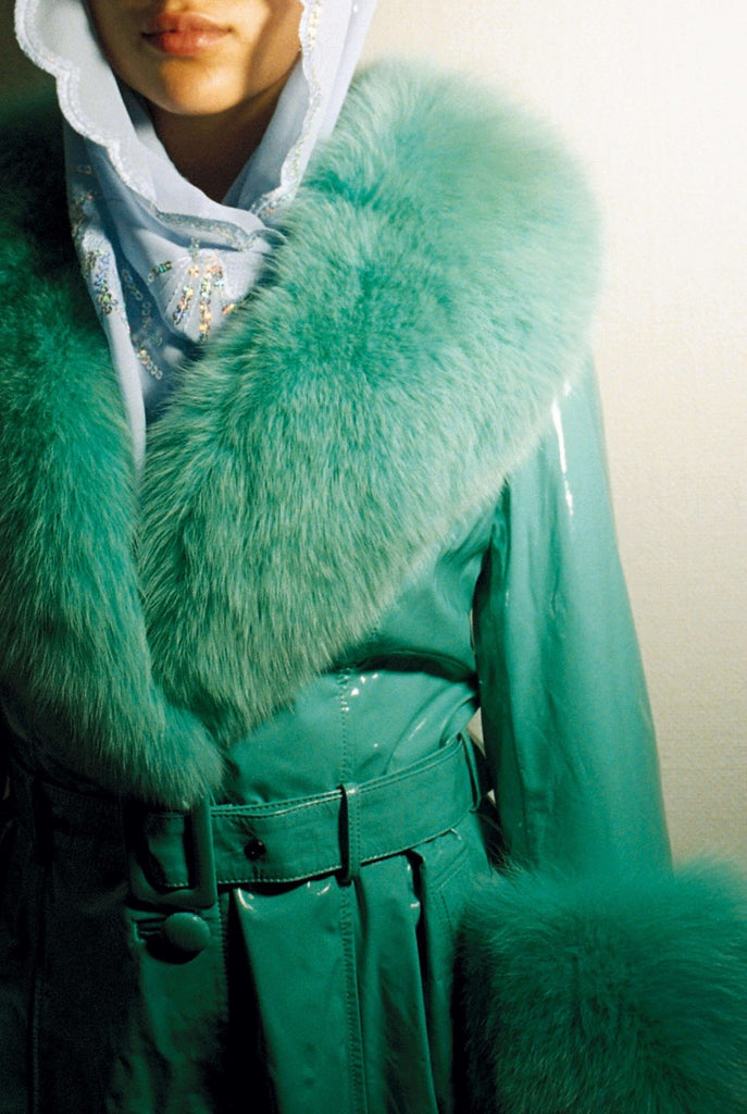 Foxy Pool Green Coat
